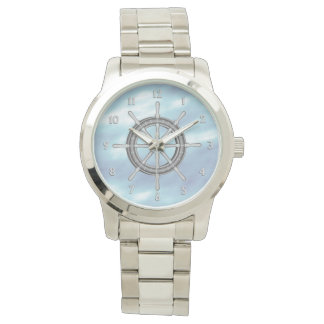 Ships Wheel Nautical Watch