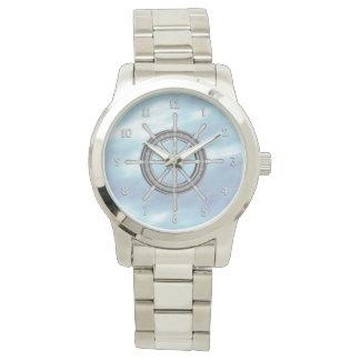 Ships Wheel Nautical Wristwatch