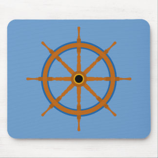 Ships Wheel - Pad Mouse Pad