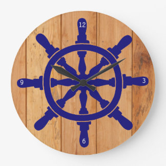 Ship's Wheel Wallclock