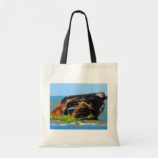 Shipwreck Abstract Blue Bags