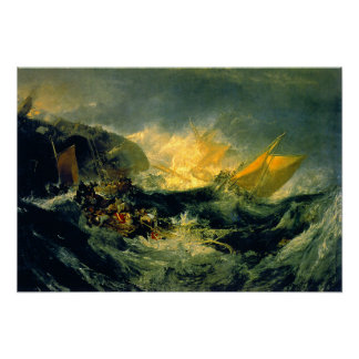 Shipwreck of the Minotaur Poster