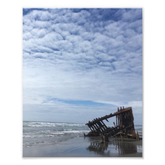 Shipwreck on the Oregon Coast Photo Print