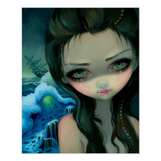 Shipwreck Siren ART PRINT Jasmine Becket-Griffith