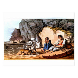 Shipwrecked Sailors and Death postcard