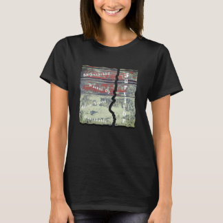 Shipwrecked,Washed Up, Storm Tossed, Survivor Tee