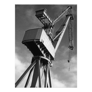 Shipyard Crane Invitation