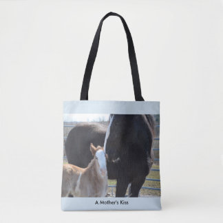 Shire Horse & Foal Tote Bag