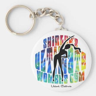 Shirlee's Ultimate Women's Gym Keychain