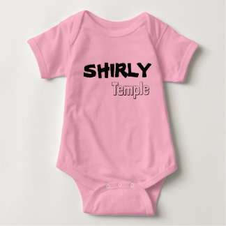 Shirly Temple Favorite Drink Baby One-ZEE Baby Bodysuit