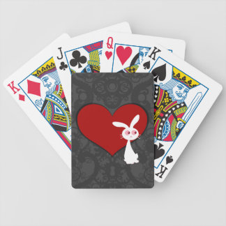 Shiro Bunny Love II Bicycle Playing Cards