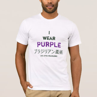 Shirt: Brazilian Jiu-Jitsu Purple Belt Achievement T-Shirt