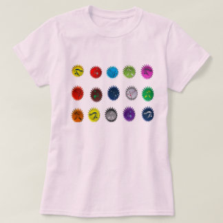 shirt capoeira dots martial arts axe