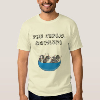 shirt.frontjpg, The Cereal Bowlers Tee Shirts