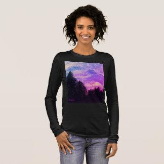 """Shirt """"Golden Sunset Pines"""" by All Joy Art"""