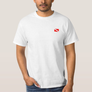 Shirt scuba to diver band simple