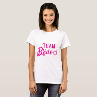 Shirt Team Bride pink