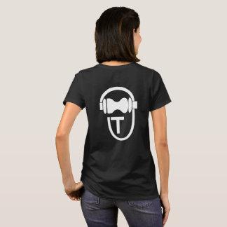 Shirt with TEnsko's Logo - Back - Dark