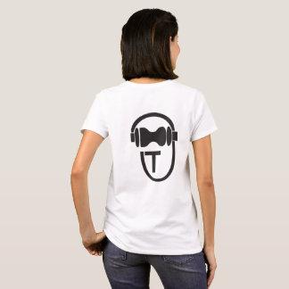 Shirt with TEnsko's Logo - Back - Light