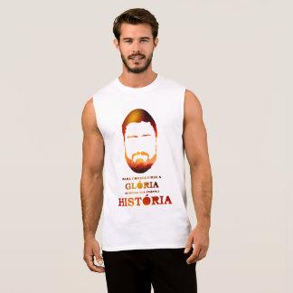 Shirt Without Mangos De Algodão - Your History