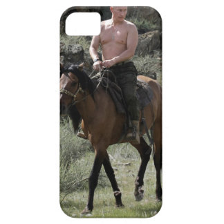 Shirtless Putin Rides a Horse Barely There iPhone 5 Case