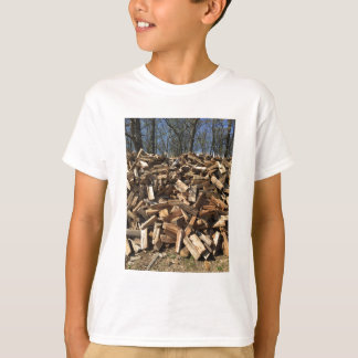 Shirts with firewood on them