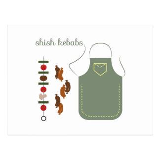 Shish Kebabs Postcard