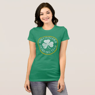 Shitholers  Irish Drinking Team T-Shirt