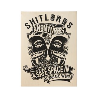 Shitlords Anonymous Poster