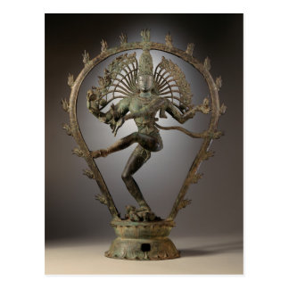 Shiva as the Lord of Dance Postcard
