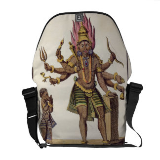 Shiva as Virapatren, Lord with the ill-formed Evil Commuter Bag