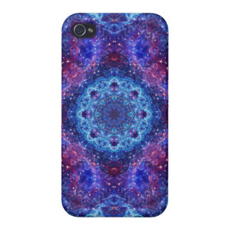 Shiva Blue Mandala iPhone 4/4S Cover
