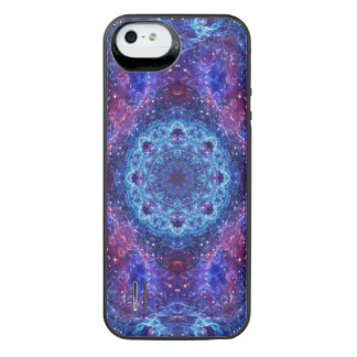 Shiva Blue Mandala iPhone SE/5/5s Battery Case