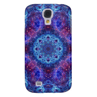 Shiva Blue Mandala Samsung Galaxy S4 Cases