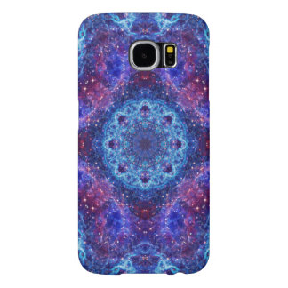 Shiva Blue Mandala Samsung Galaxy S6 Cases
