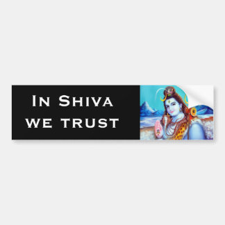 Shiva Bumper Sticker - Version 2