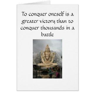 Shiva Card - Self Conquer
