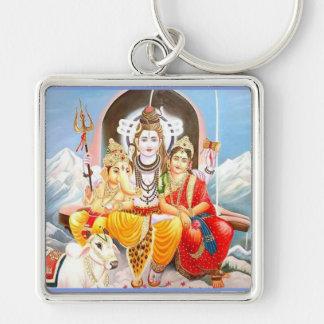 shiva family key ring