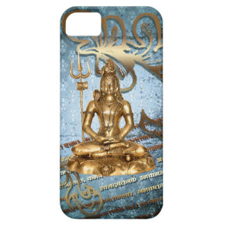 Shiva gold blue Case-Mate iPhone 5 Universal Case