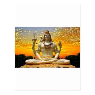 SHIVA HINDU GOD POSTCARD