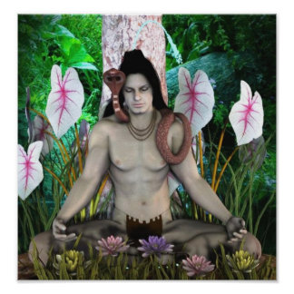shiva hindu god poster from 14.95
