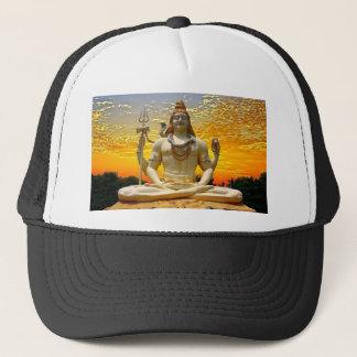 SHIVA HINDU GOD TRUCKER HAT