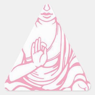 Shiva Let it go Triangle Sticker