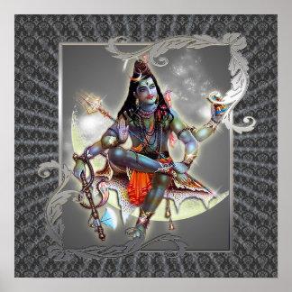 Shiva - Magic Of Grey - Poster