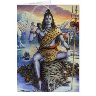 Shiva Mahadeva Card