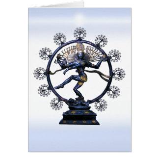 Shiva Nataraja, a fabulous fractal Card