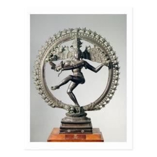 Shiva Nataraja, Tamil Nadu, Late Chola (bronze) Postcard