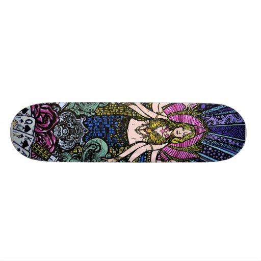 Shiva of Las Vegas Custom Skate Board