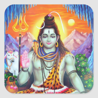 Shiva Sticker - Version 4