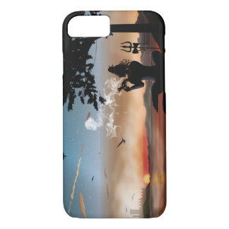 Shiva with chillam iPhone 7 case